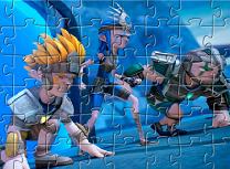 Campionii Sendokai Puzzle