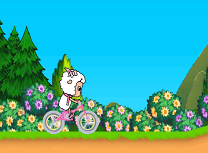 Capra pe Bicicleta