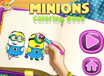 Carte de Colorat cu Minioni