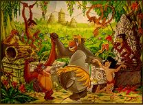 Cartea Junglei Mania Puzzle