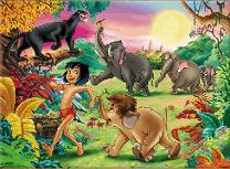 Cartea Junglei Puzzle