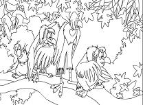 Cartea Junglei de Colorat 2
