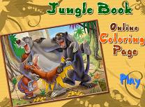 Cartea Junglei de Colorat 3
