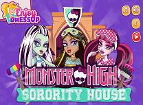 Casa Surorilor Monster High
