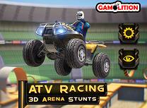Cascadorii cu ATV in Arena