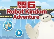 Cei 6 Super Eroi Regatul Robotilor