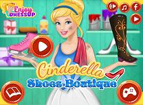 Cenusareasa si Magazinul de Pantofi