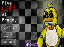 Cinci Lupte la Freddy