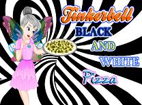 Clopotica Pizza Alb Negru