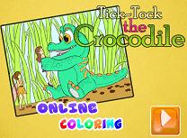 Clopotica si Crocky de Colorat