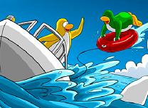Clubul Pinguinilor Distractie pe Mare