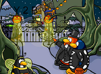 Clubul Pinguinilor de Halloween