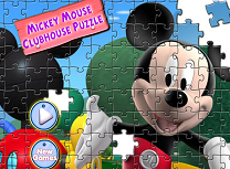 Clubul lui Mickey Mouse Puzzle