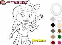 Coloreaz-o pe Goldie