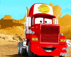Coloreaza Camionul Mc Queen