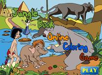 Coloreaza Cartea Junglei