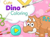 Coloreaza Dinozaurul