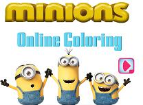 Coloreaza Minioni