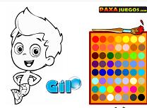 Coloreaza Personajele Baloane si Guppy