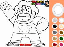 Coloreaza cu Steven