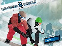 Confruntare pe Snowboard