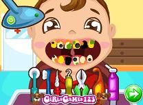Copilul la Dentist