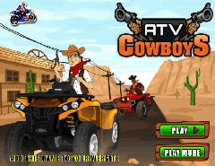 CowBoy pe ATV