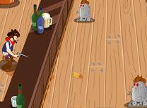 Cowboy vs Roboti