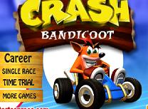 Crash Bandicoot cu Cartul