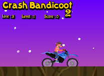 Crash Bandicoot cu Motocicleta 2