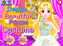 Creeaza Costume de Printesa