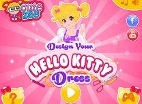 Creeaza Rochia Hello Kitty