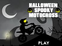 Cu Motocicleta de Halloween
