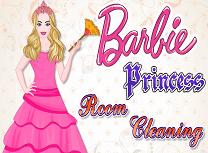 Curatenie cu Printesa Barbie