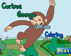 Curiosul George de Colorat 2