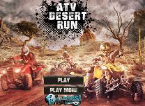 Cursa cu ATV in Desert