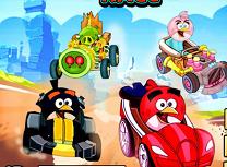 Cursa cu Angry Birds