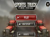 Cursa cu Camioane pe Timp