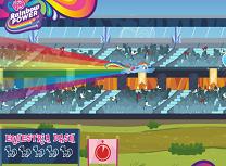 Cursa cu Rainbow Dash