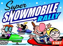 Cursa cu Snowmobile