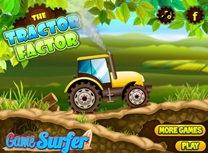 Cursa cu Tractorul