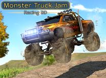 Curse 3D cu Monster Truck