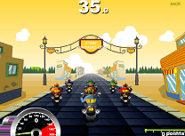 Curse cu Motociclete Chopper
