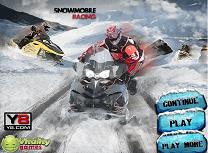 Curse cu Snowmobile-ul