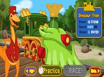 Curse cu Trenul Dinozaur