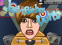 Darts cu Justin Bieber