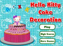 Decoreaza Tortul Kitty