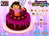 Decoreaza Tortul cu Dora
