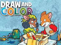 Deseneaza si Coloreaza cu Geronimo