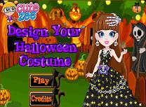 Design de Costume de Halloween